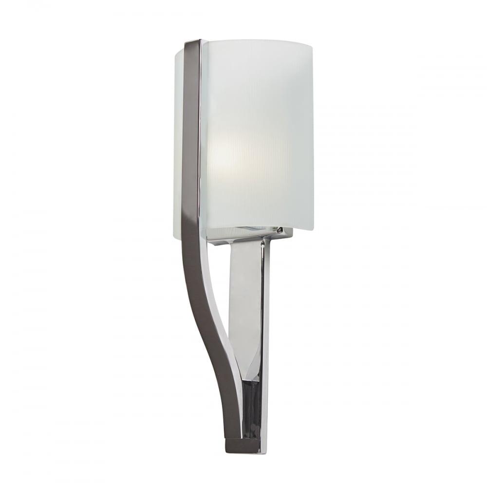 Elstead Freeport Modern Bathroom Wall Light In Polished Chrome ...