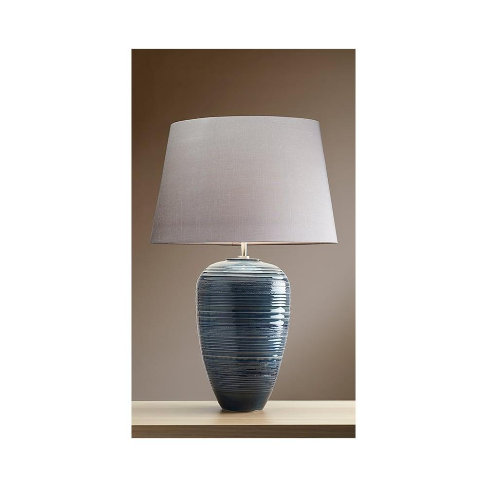 Elstead luiposeidon poseidonr lui collection blue table lamp with luiposeidon poseidonr lui collection blue table lamp with shade aloadofball Image collections