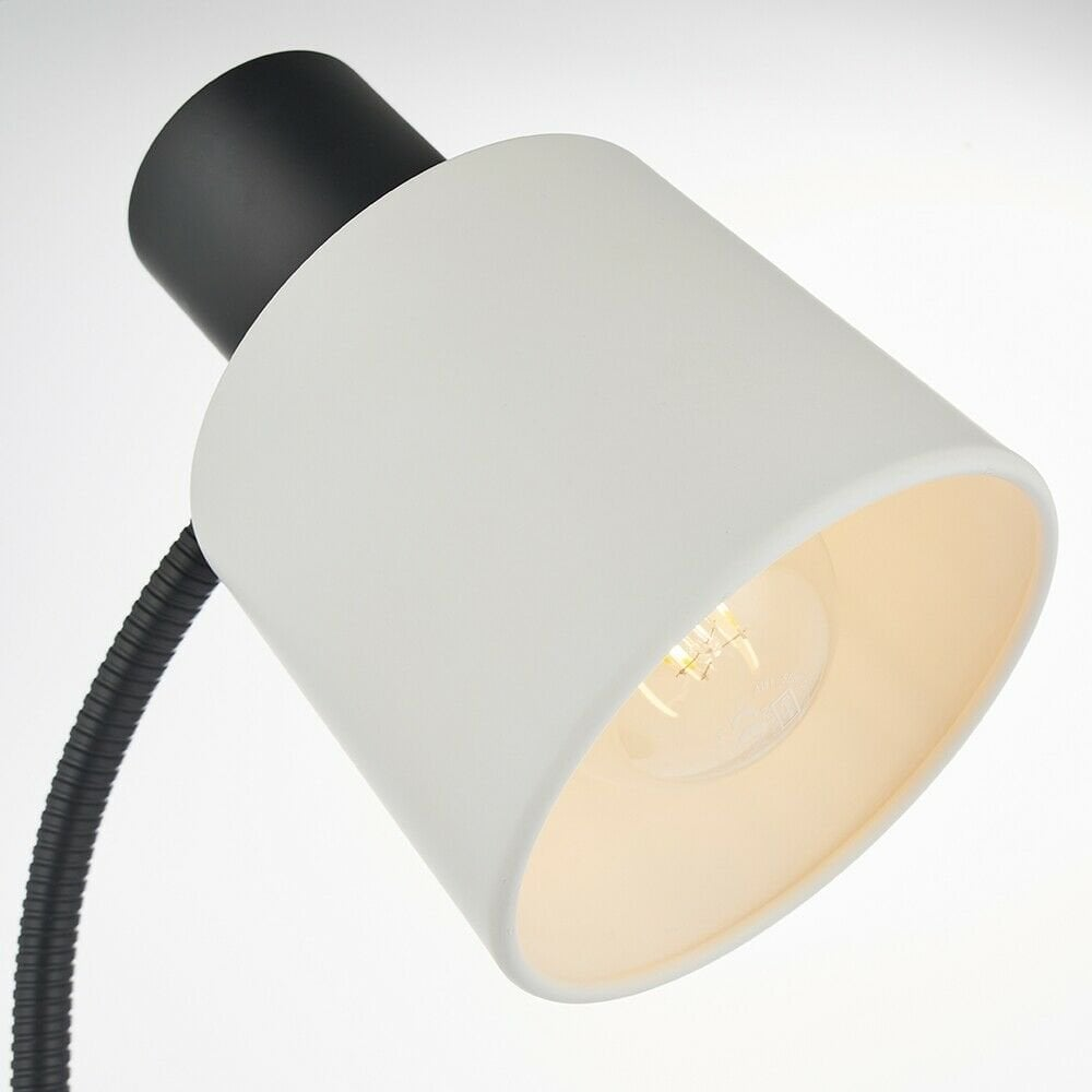 Lens Table Lamp + USB – Copper | Table