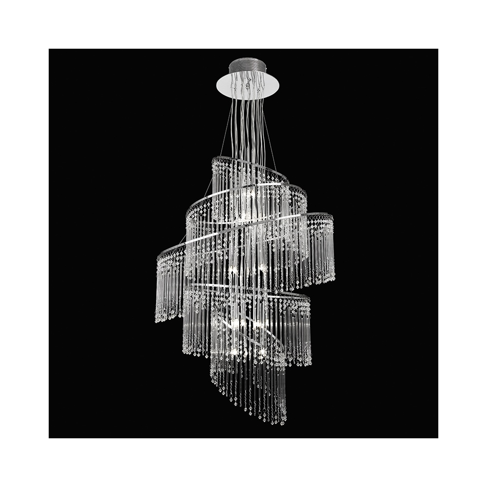 Endon camille 24ch contemporary 24 light glass chandelier lighting camille 24ch contemporary 24 light glass chandelier arubaitofo Image collections