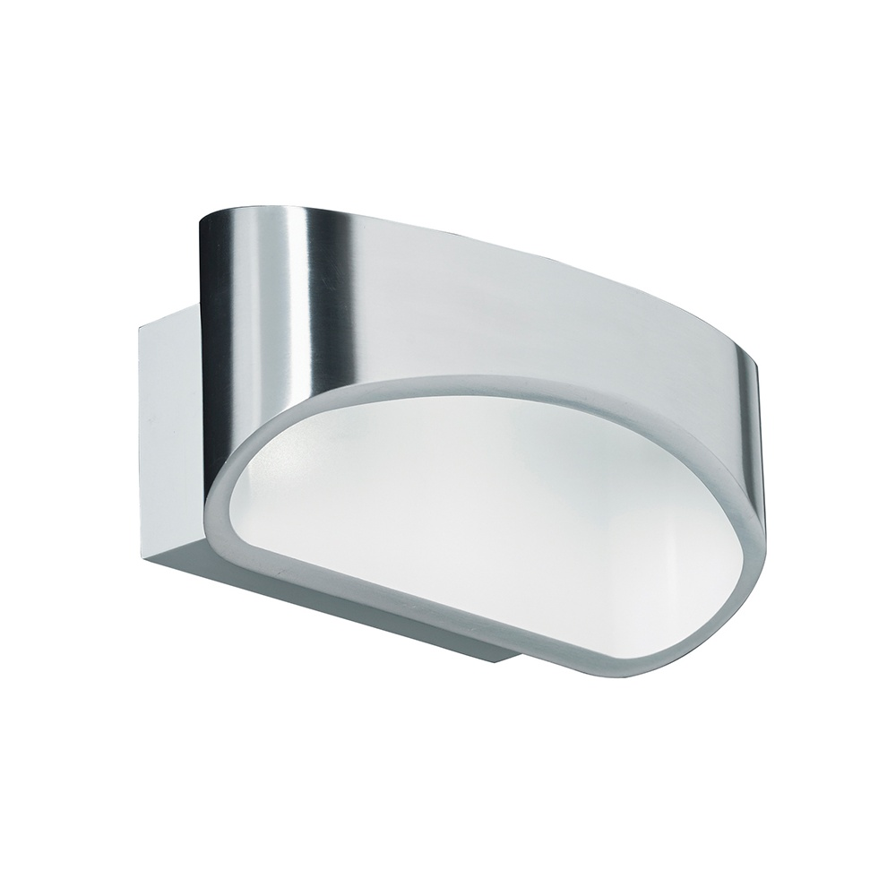 Endon johnson ch led modern polished chrome wall bracket lighting johnson ch led modern polished chrome wall bracket aloadofball Image collections
