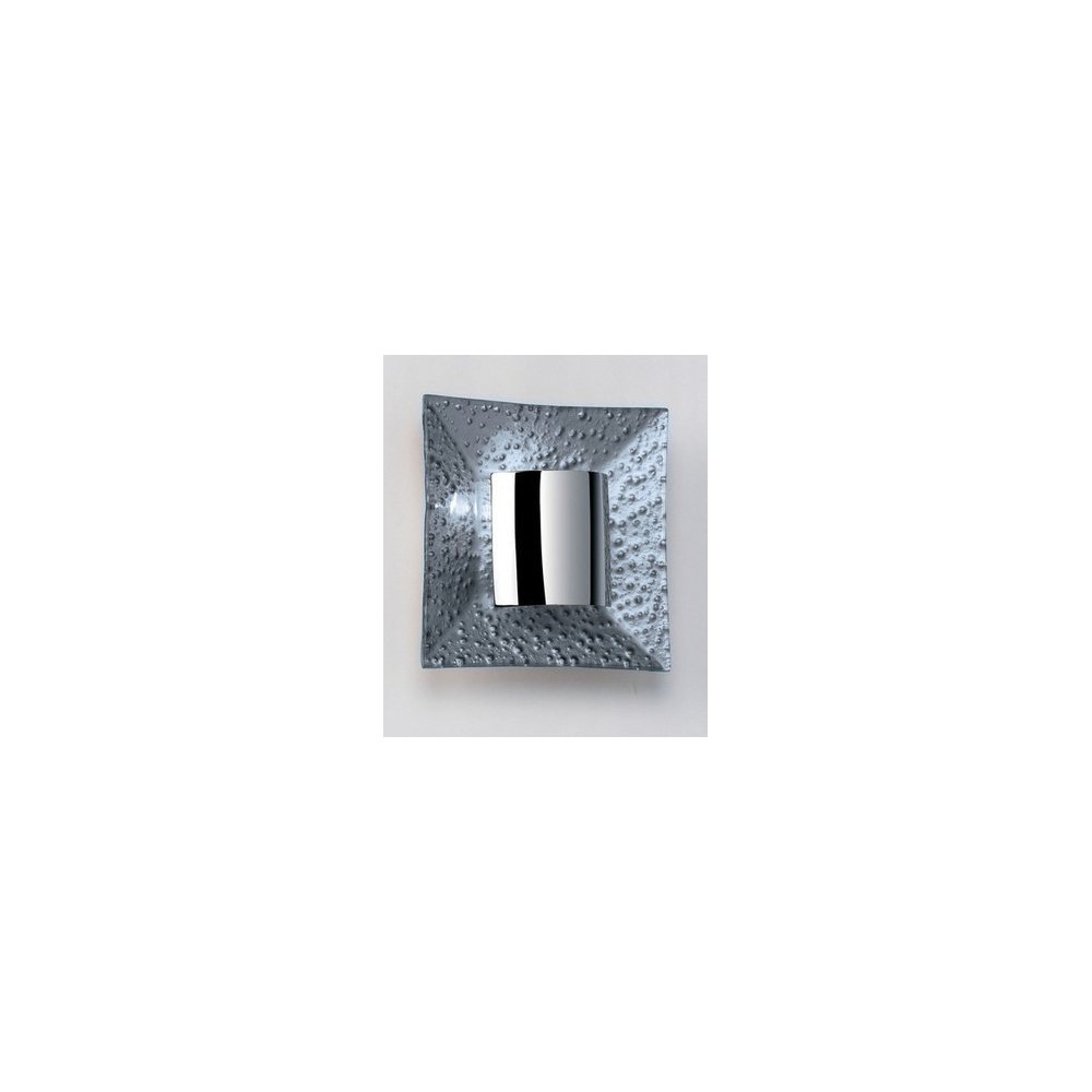 Endon Lighting 416-WBSIL Wall Light In Silver And Chrome - Lighting from The Home Lighting Centre UK