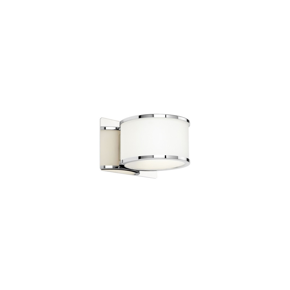 Endon Lighting EL-20068 Single Wall Light With Glass Shade And Chrome Trim - Endon Lighting from ...