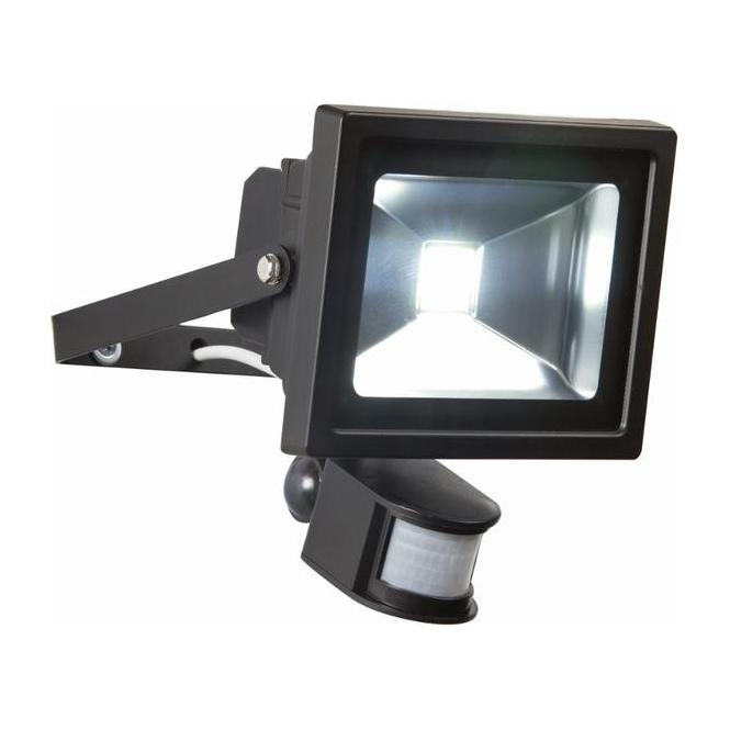 Flood Lights Pir : Endon lighting el w led pir flood outdoor sensor