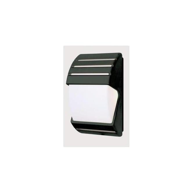 Endon EL 40022 Low Energy Dusk Till Dawn Black Outside Light Lighting From