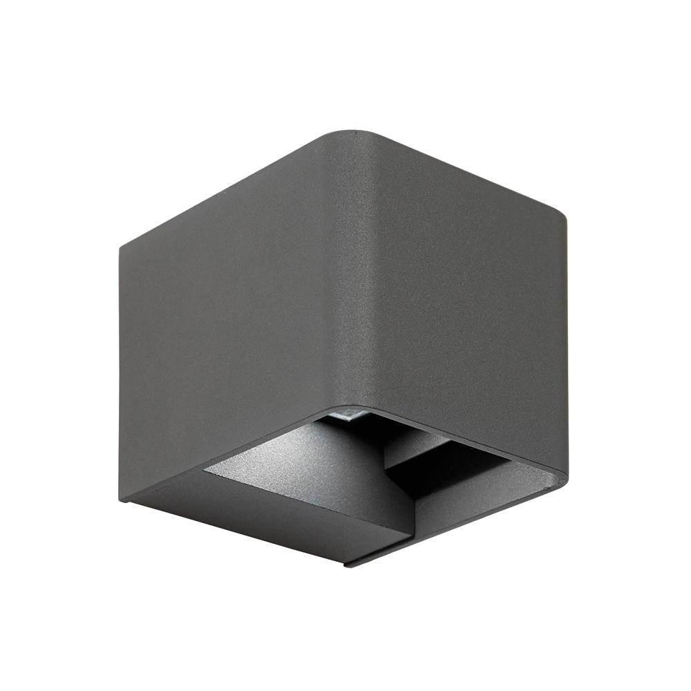 Endon EL 40072 LED Outdoor Adjustable Matt Grey Up Down Wall Light Lighting