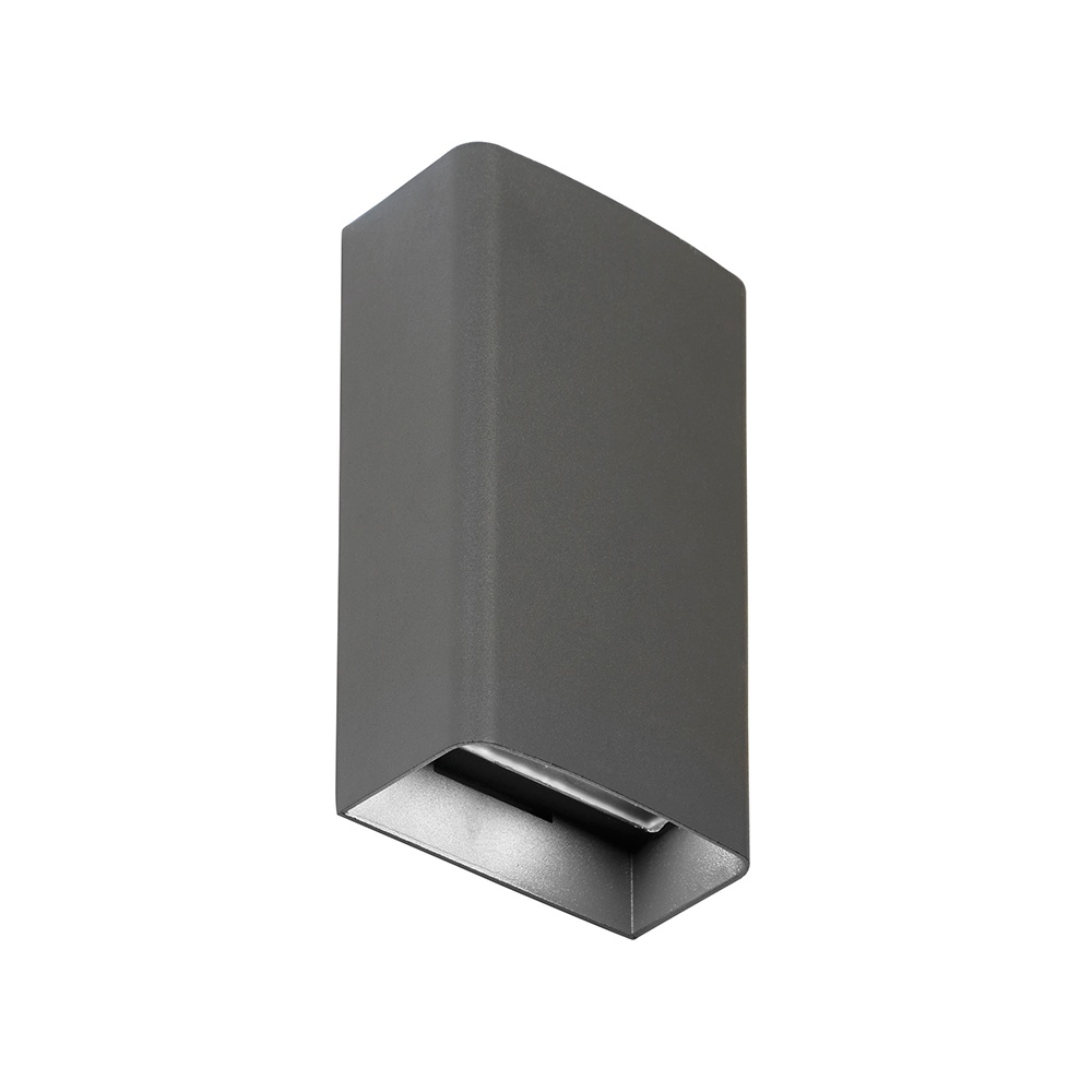 Endon EL-40073 LED Outdoor Matt Grey Up/Down Double Wall Light - Lighting from The Home Lighting ...