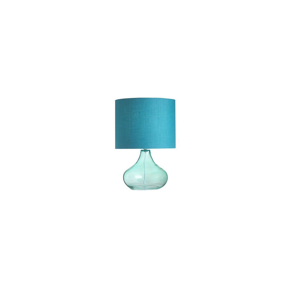 Endon harrow tlte modern glass table lamp with teal finish harrow tlte modern glass table lamp with teal finish aloadofball Image collections