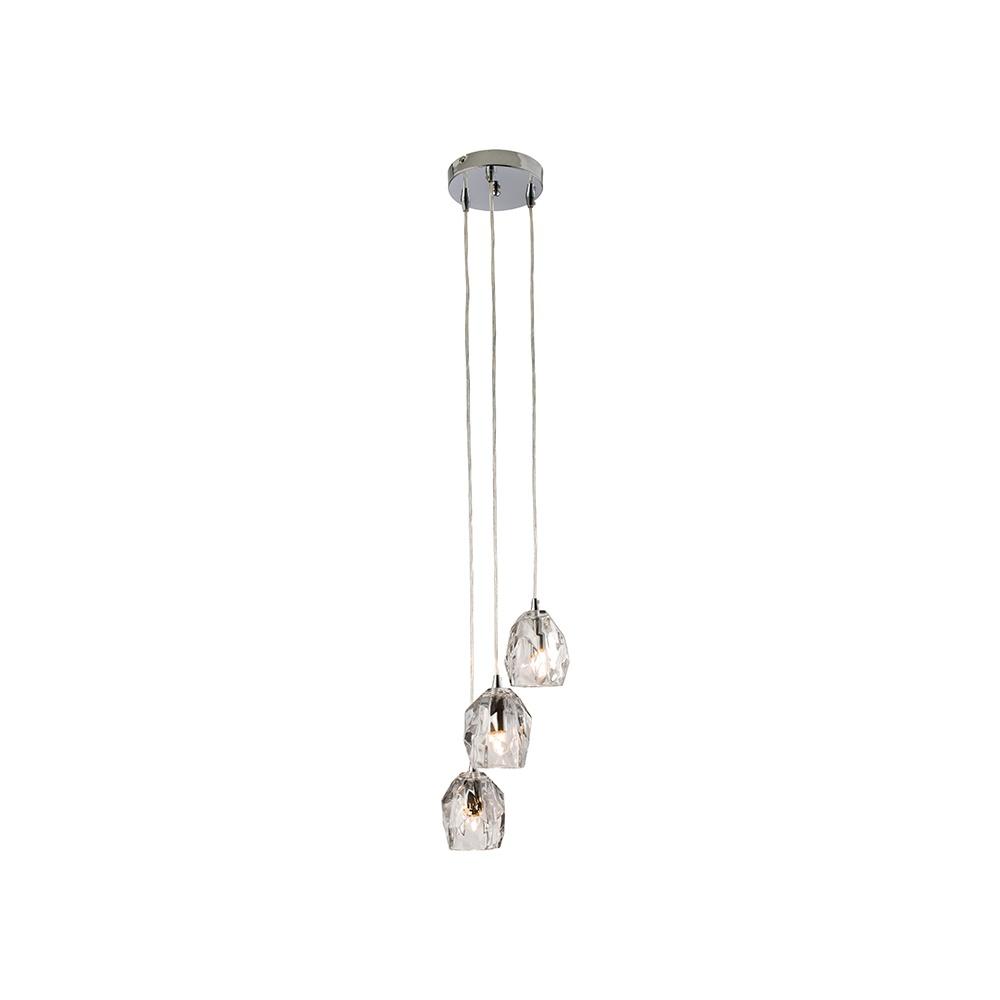Endon poitier decorative glass shades 3 light ceiling pendant light poitier decorative glass shades 3 light ceiling pendant light 61194 aloadofball Gallery