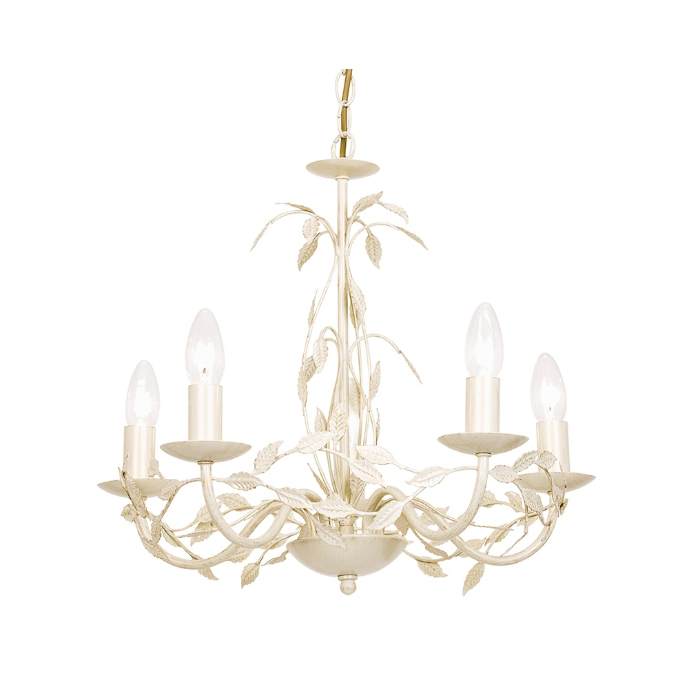 Endon Lighting SERENADE 5CR Elegant 5 Light Chandelier In