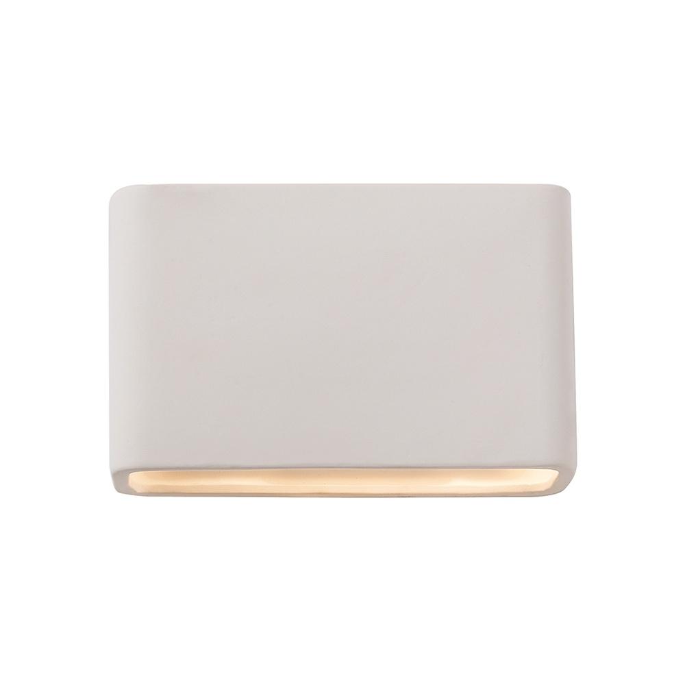 Endon UG-WB-M Ceramic Unglazed Low Energy Rectangular Wall Bracket - Lighting from The Home ...