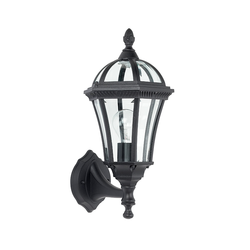 Endon YG-3500 Exterior Wall Lantern In Black - Lighting from The Home Lighting Centre UK