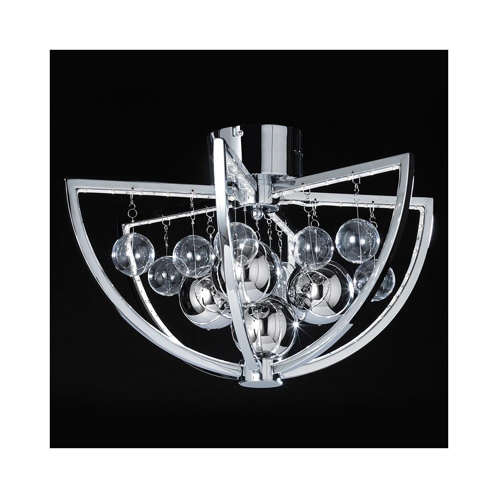 MUNI-CH-F LED Semi Flush Polished Chrome Ceiling Light  sc 1 st  The Home Lighting Centre & Endon MUNI-CH-F LED Semi Flush Polished Chrome Ceiling Light ... azcodes.com