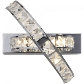 ETE3050 Eternity Chrome Wall Light