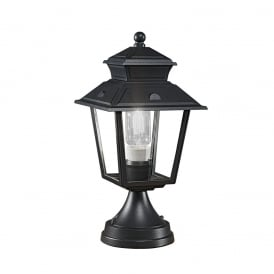 EXT6607 Giardino 1 Light Exterior Gate Post Lantern