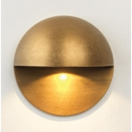 Exterior Wall Light In Antique Brass Finish TIVOLI 7845