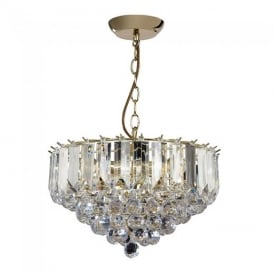 Fargo Modern 3 Light Acrylic Ceiling Pendant Light FARGO-14BP
