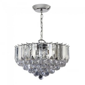 Fargo Modern 3 Light Acrylic Ceiling Pendant Light FARGO-14CH
