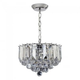 Fargo Modern 3 Light Acrylic Small Ceiling Pendant Light FARGO-12CH