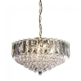 Fargo Modern 6 Light Acrylic Ceiling Pendant Light FARGO-18BP