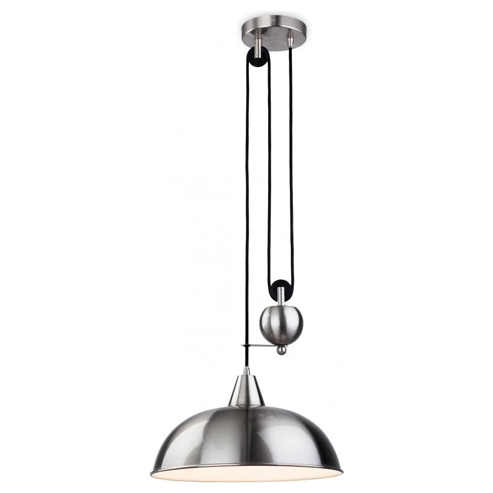 Firstlight century modern rise and fall ceiling light in antique century modern rise and fall ceiling light in antique silver 2309 aloadofball Choice Image