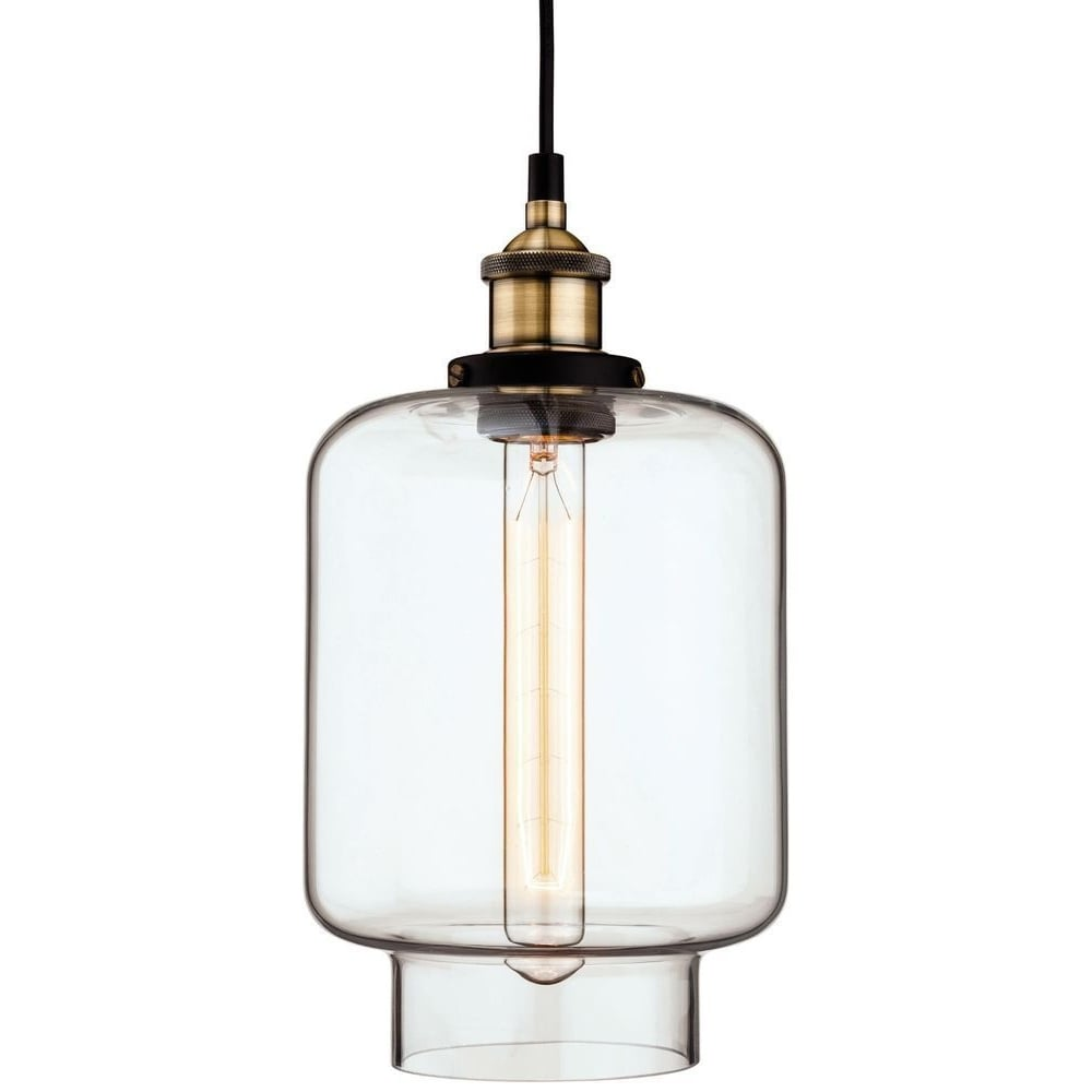 Firstlight empire vintage glass ceiling pendant light in antique empire vintage glass ceiling pendant light in antique brass finish 3474ab mozeypictures Image collections