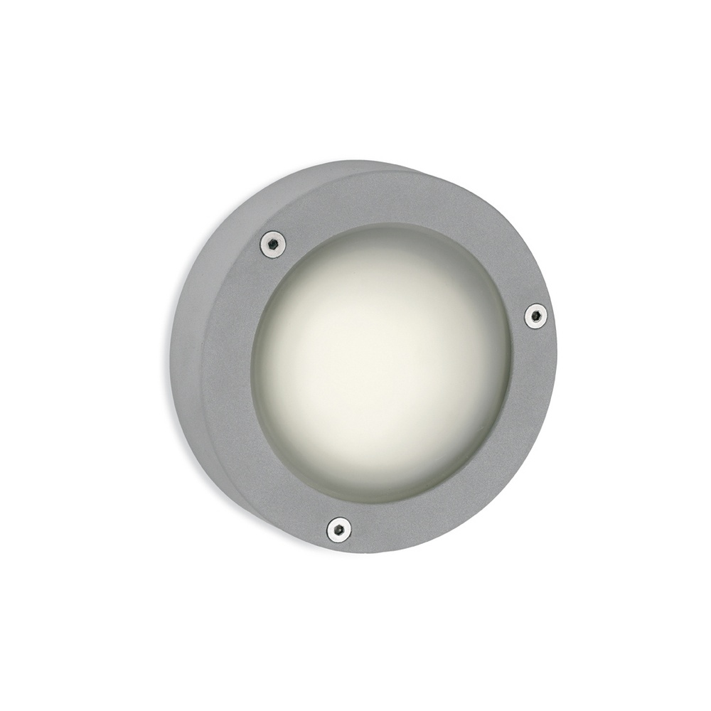 Firstlight grey aluminium outdoor bulkhead light 6086al lighting grey aluminium outdoor bulkhead light 6086al mozeypictures Choice Image