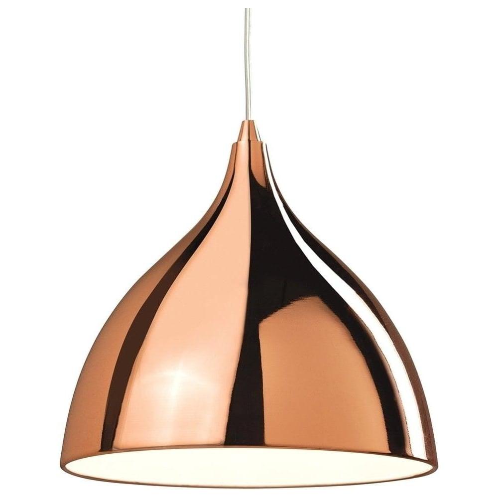 Firstlight lighting 5746 cafe modern polished copper ceiling pendant