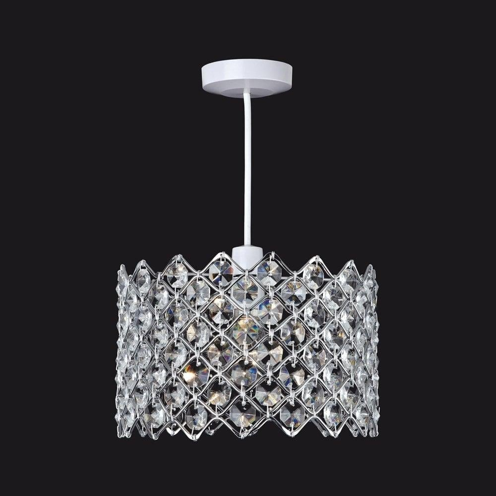 Firstlight 8112 easy fit crystal ceiling pendant light lighting 8112 easy fit crystal ceiling pendant light mozeypictures Choice Image