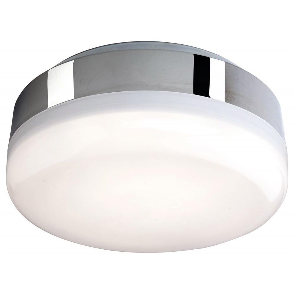 Led Bathroom Centre Light firstlight mini hydro led bathroom flush ceiling light in chrome