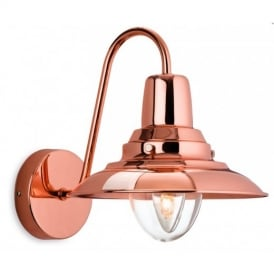 Fisherman 1 Light Wall Lantern in Copper Finish 8686CP