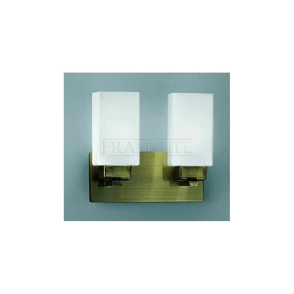 FL2007EL/2 Carina 2 Light Brushed Bronze Low Energy Wall Light - Lighting from The Home Lighting ...