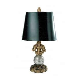Fleur De Lis Contemporary Table Lamp By Paul Grüer FB/FLEUR DE LIS