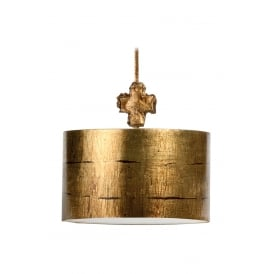 Fragment Contemporary Gold Large Ceiling Pedant Light By Paul Grüer FB/FRAGMENT-G/PL