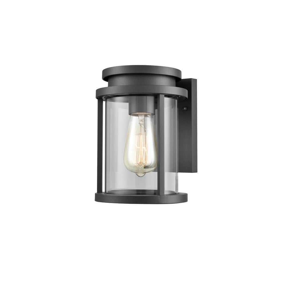 Franklin Contemporary Outdoor Wall Lantern In Charcoal Finish Ip44 Od6621 Lighting From The Home Lighting Centre Uk