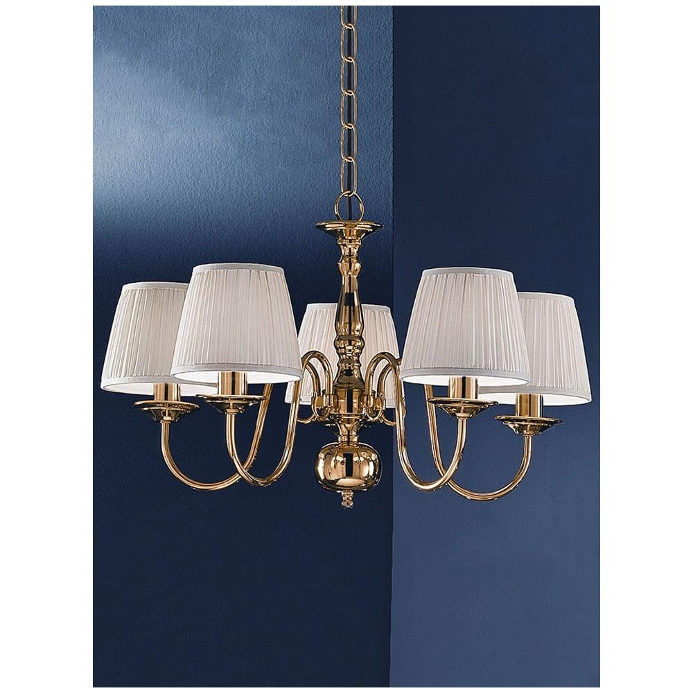 Franklite lighting delft 5 light polished brass flemish chandelier delft 5 light polished brass flemish chandelier pe7915 mozeypictures Gallery