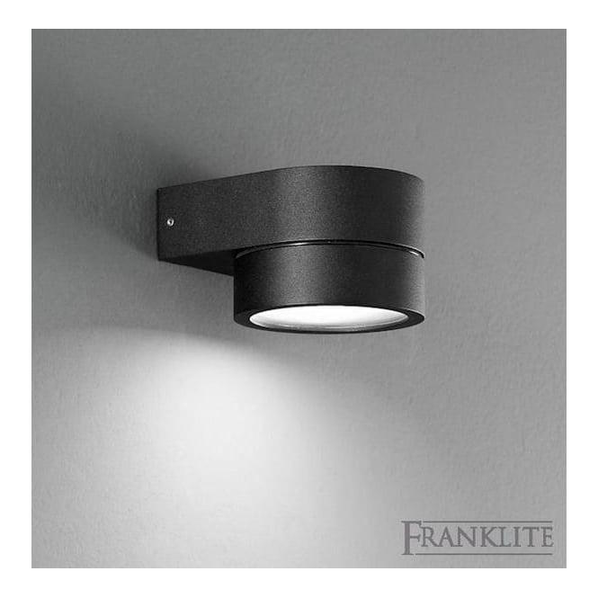 EXT6570EL Nocturn Exterior Wall Light In Black