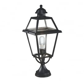 EXT6603 Nerezza 1 Light Exterior Gate Post Lantern
