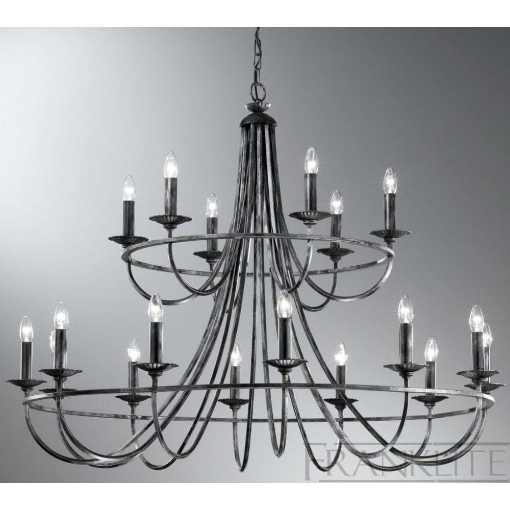 Franklite lighting fl222418 cawdor 18 light hand made iron fl222418 cawdor 18 light hand made iron chandelier aloadofball Gallery