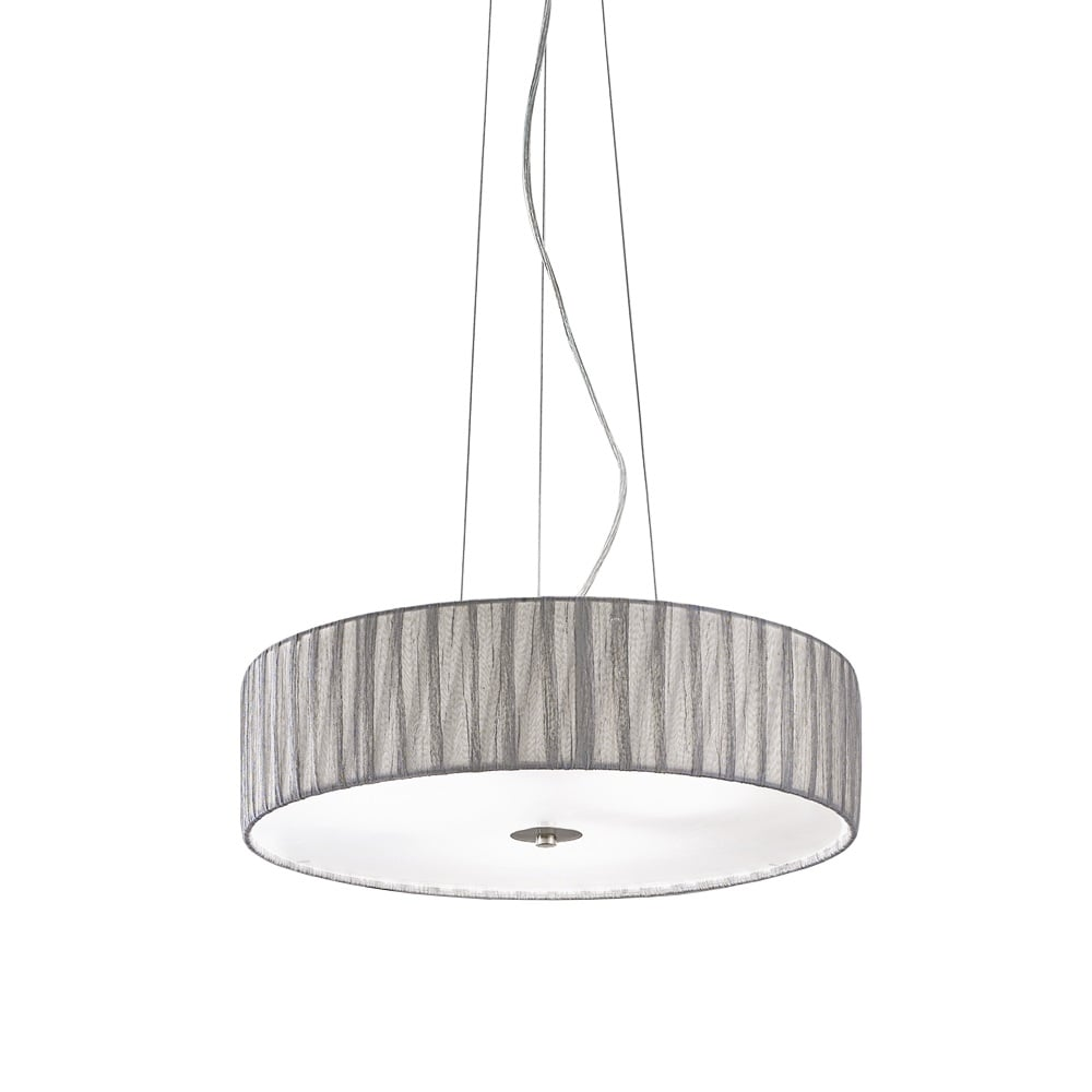 Franklite lighting fl22844 lucera medium satin nickel and silver fl22844 lucera medium satin nickel and silver ceiling pendant mozeypictures Choice Image