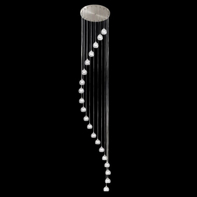 Franklite Lighting FL2300/20 Tierney 20 Light Spiral Pendant Light
