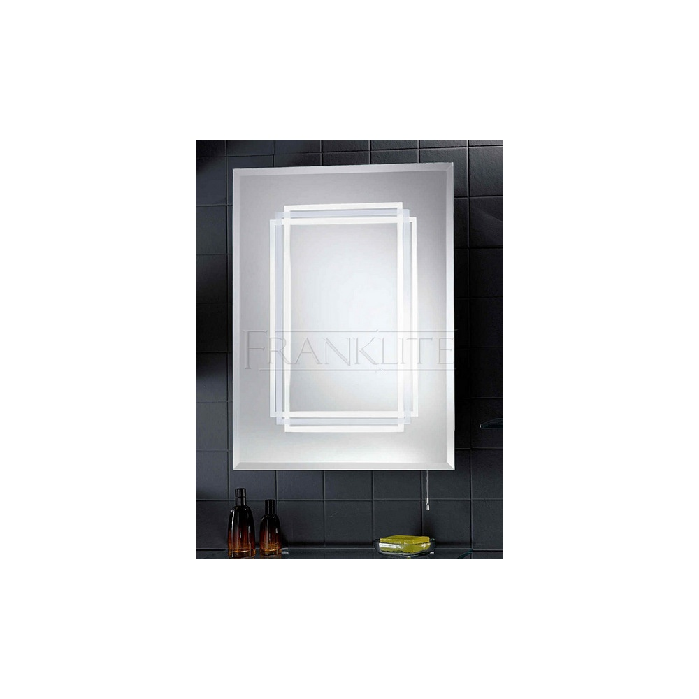 Franklite Lighting FRN31EL Low Energy Illuminated Bathroom Mirror ...