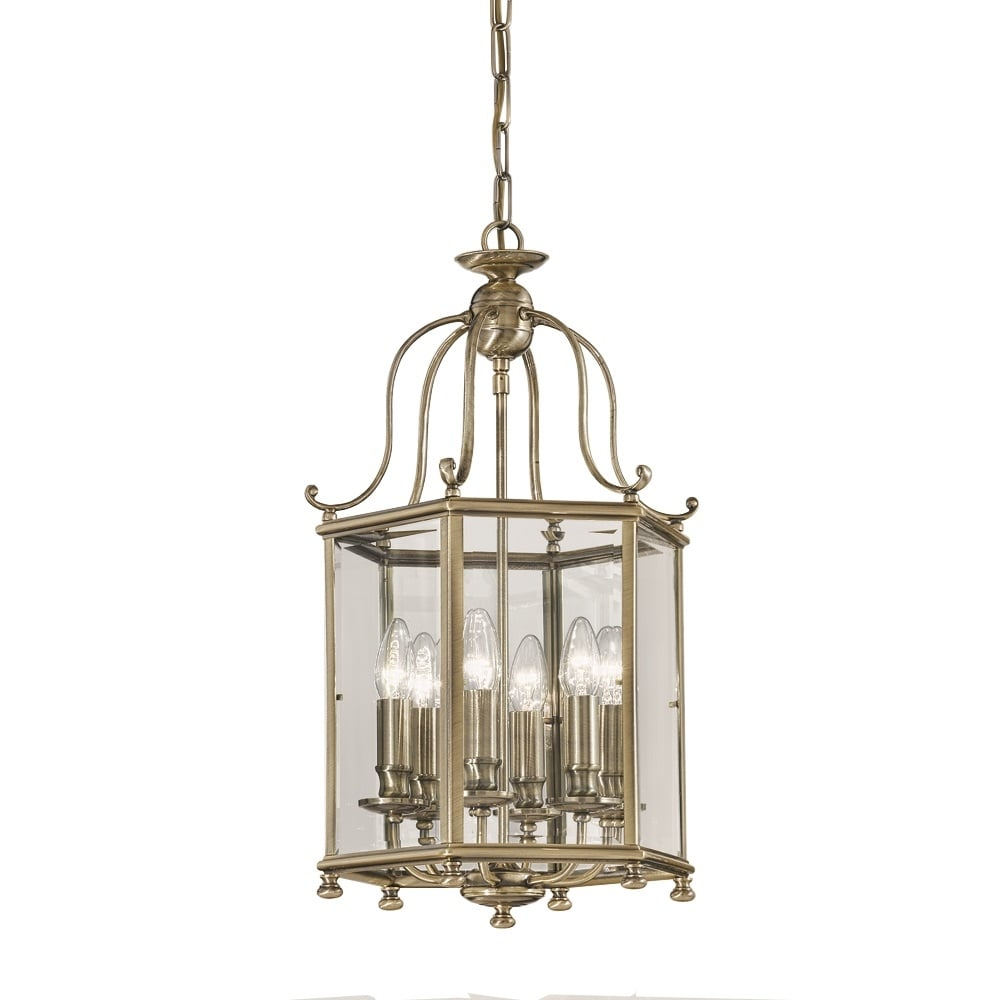 franklite lighting la7007 6 montpelier 6 light bronze georgian hall