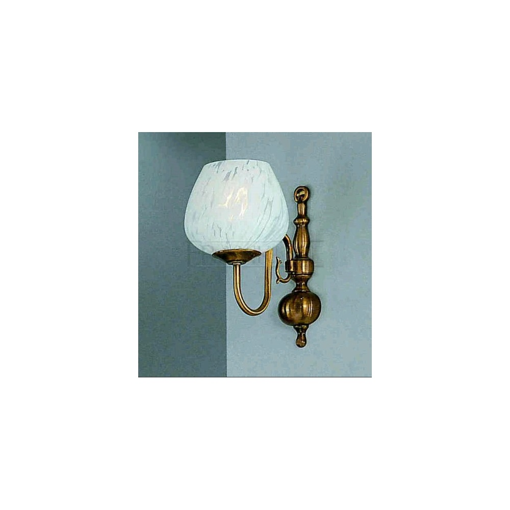 Brass Wall Lights With Shades : Franklite Lighting PE7931/717 Halle 1 Light Bronze Brass Wall Light with Shade - Lighting from ...