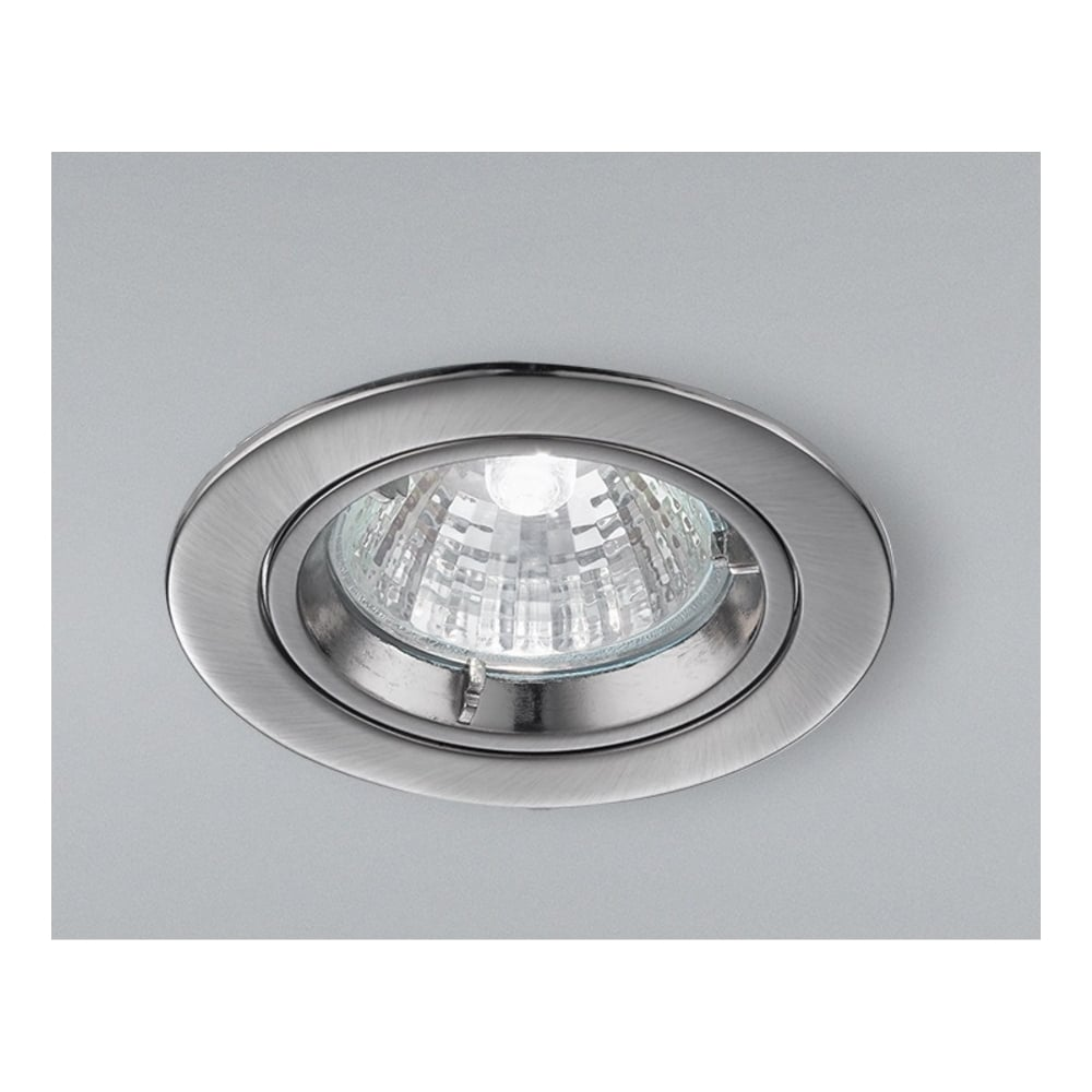 Franklite lighting rf282 low voltage halogen satin nickel fixed rf282 low voltage halogen satin nickel fixed recessed downlight aloadofball Images