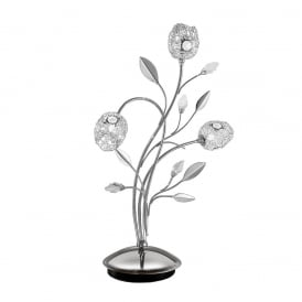 TL888 Nebula 3 Light Table Lamp In Chrome