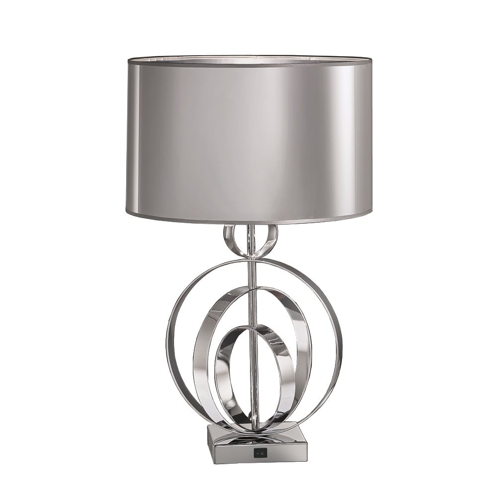 Franklite lighting tl969 zany 1 light polished chrome table lamp tl969 zany 1 light polished chrome table lamp aloadofball Image collections