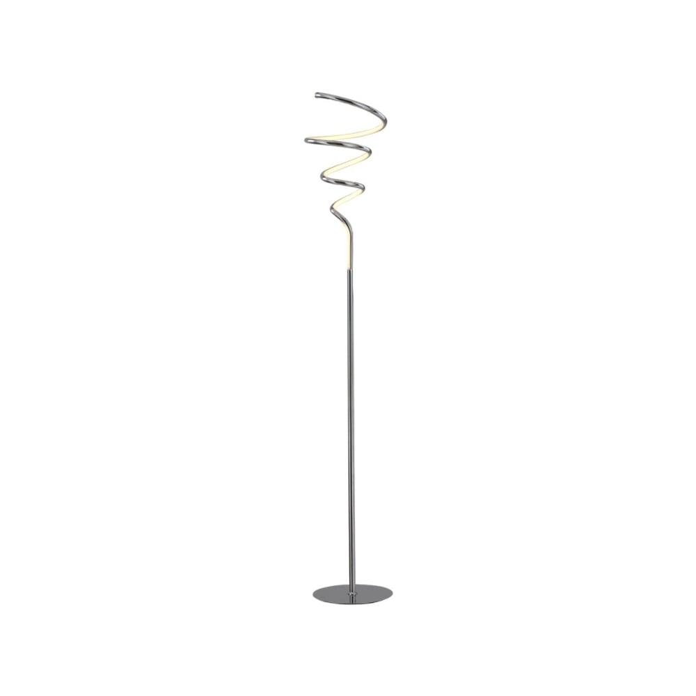 Franklite lighting vibe modern led floor lamp in chrome finish sl229 vibe modern led floor lamp in chrome finish sl229 aloadofball Image collections
