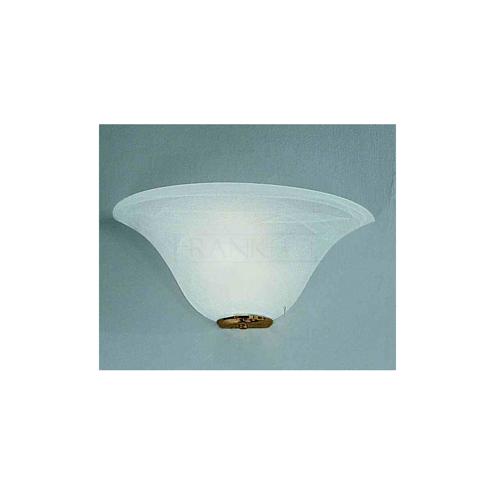 Wall Uplighter Lamps : Franklite Lighting WB518/775 Naples Brass Wall Uplighter With Alabaster Shade - Lighting from ...