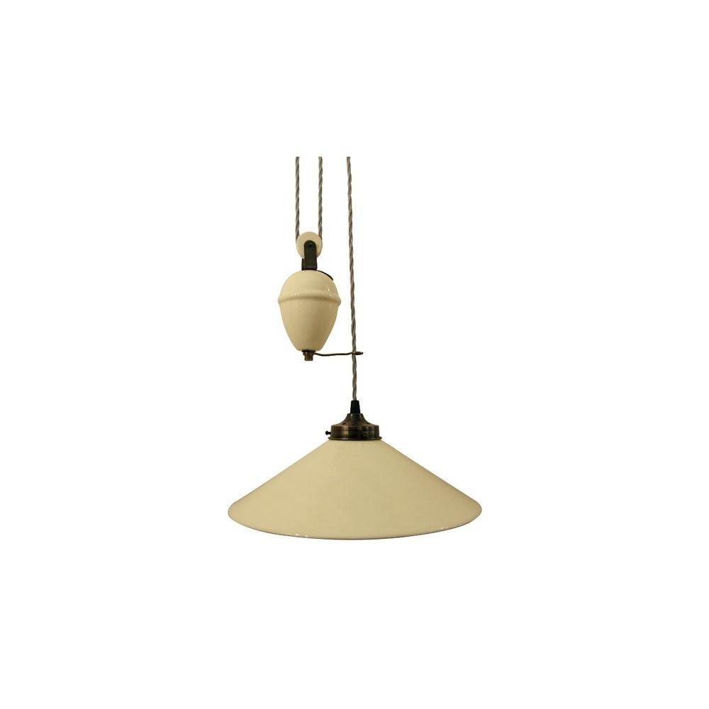 French rise and fall pendant lamp naturel lighting from the home french rise and fall pendant lamp naturel aloadofball Choice Image